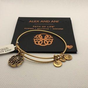🆕 Alex and Ani Path Of Life Charm Bracelet
